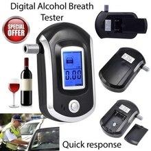 متعددة الوظائف المحمولة الرقمية الكحول صغير المهنية الكلاسيكية الشرطة التنفس الكحول محلل 20 الفم