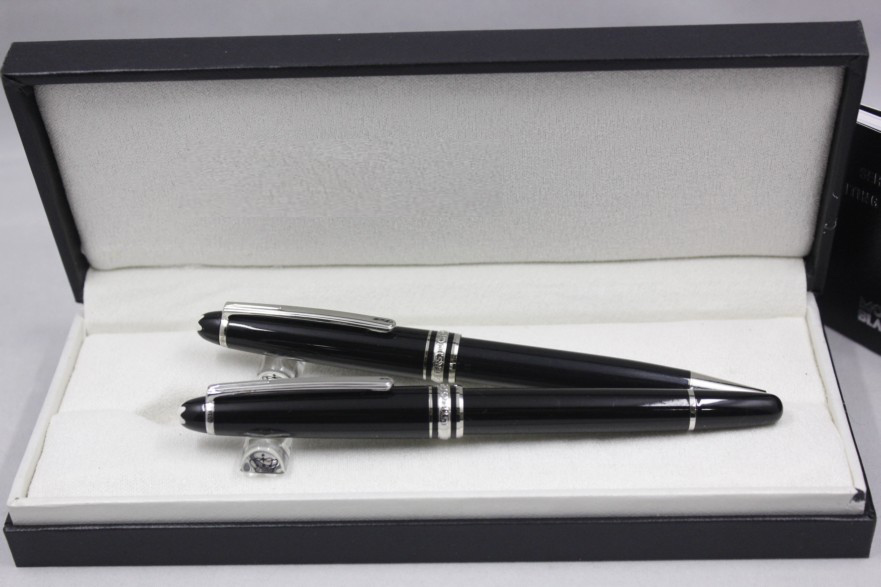 Luxury 163 Series Mon Roller Ballpoint Pen Hot Sell Blanc Ink Color Gift Pen