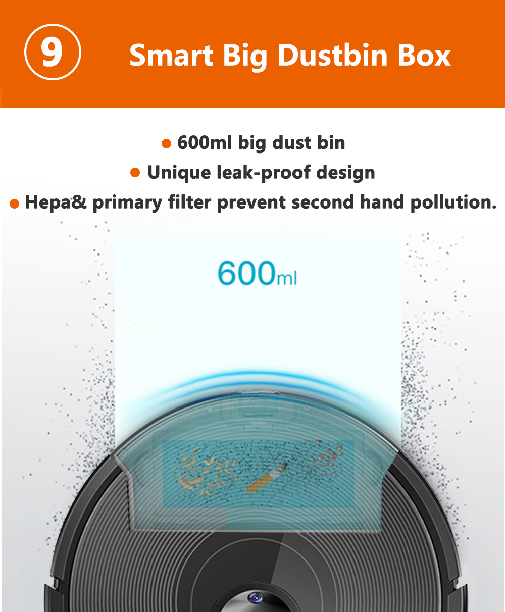 H15c261953b9f4e3ea8c79b218bf1d79b8 ABIR X6 Robot Vacuum Cleaner with Camera Navigation,WIFI APP controlled,Breakpoint Continue Cleaning,Draw Cleaning Area,Save Map
