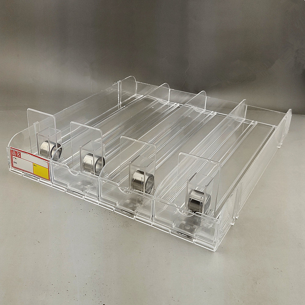 Unitary 4-in-1 Plastic Shelf Rack Cigarettes Commodity Automatic Refill Pushing Pusher System In Retail Supermarket 100sets