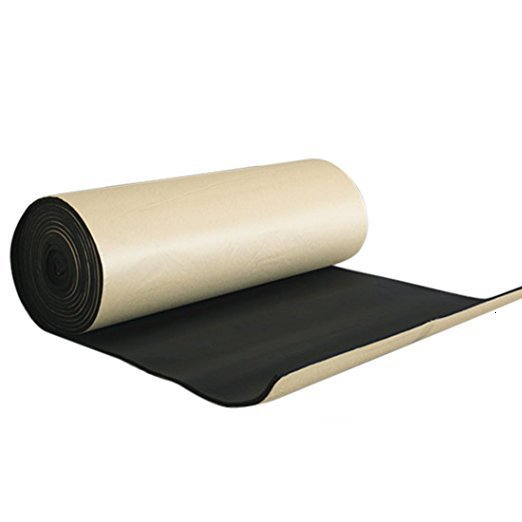 60x100x1cm Sound Deadening Pad Foam Auto Acoustic Noise Insulation Cotton Mat Soundproofing For Car Engine Hood Car Door Trunk