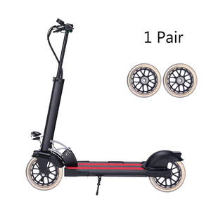 1 Pair 100mm Scooter Wheels Mute Replacement Wheels For Luggage Suitcase Baby Swing Car