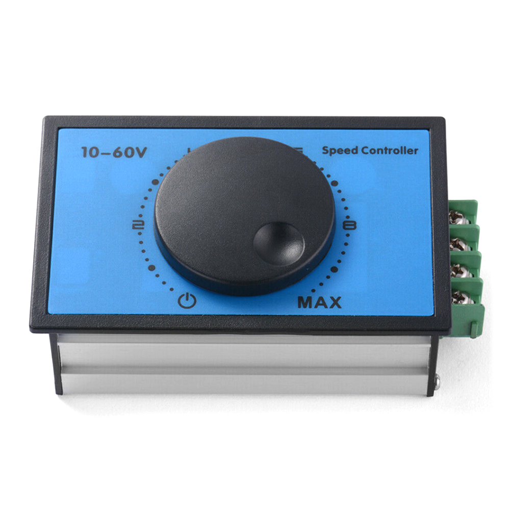 DC 10-60V 12V 24V 48V 20A PWM DC Motor Speed Controller Soft Start Switch