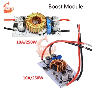 DC-DC 250W 500W 10A Step Up Boost Converter Constant Current Power Supply LED Driver DC10V-40V 8.5V-48V Voltage Regulator Module image