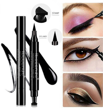 4 Eyeliner New Double Head Seal Liquid Makeup Black Lasting Marker