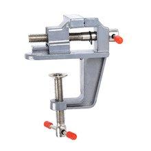 цена на 35MM Aluminium Alloy Table Bench Clamp Vise Mini Bench Vise Table Screw Vise for DIY Craft Mold Fixed Repair Tool