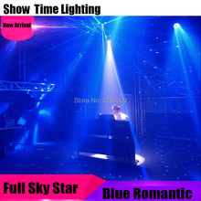New Arrival Romantic Blue Laser Full Sky Star Disco Laser 12 Beam Blue Lazer Use For Sing Dance DJ Home Party KTV Christmas(China)