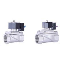 24vdc 2 inch Solenoid Valve  Water 12v DN50 N/C Electric Stainless Steel Valve For 12 hours Working