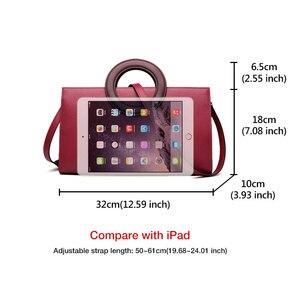 Image 5 - FOXER Lady Elegant Hand Bags Cowhide Women Stylish Shoulder Bag Leather Tote Female Luxury Messenger Bag Fashion Brand Bag Purse