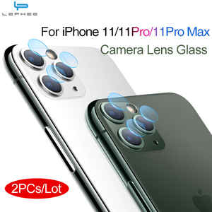 Image 1 - 2PCs Tempered Glass On For iPhone XS XR X 11 Pro Max Glass Camera Lens Screen Protector For iPhone 11 2019 Protective Glass Film