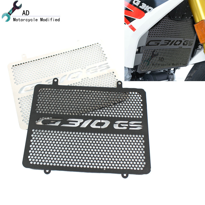 For BMW G310GS G310 GS Grill R & G Protection Parts GS 310 Radiator Guard Protector Cover Grille Aluminum Accessories Motorcycle(China)