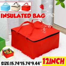 Food-Delivery-Bag Drink-Carrier Pizza Ice-Pack Insulation Folding Lunch Picnic Portable