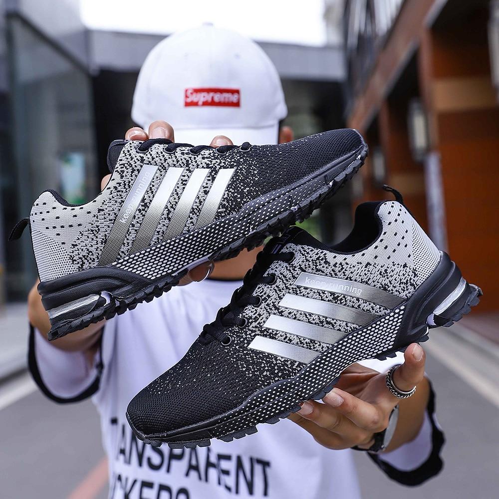 2020 Lente Mode Mannen Sneaker Schoenen Vrouwen Mesh Ademend Lichtgewicht Wearable Casual Mannen Schoenen Luxe Merk Zapatos Hombre