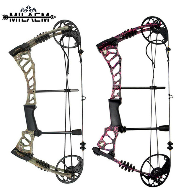 40-60lbs Archery Compound Bow Set Adjustable 75% Left-off 310FPS Powerful Bow Outdoor Bow And Arrow Shooting Hunting Accessories 1