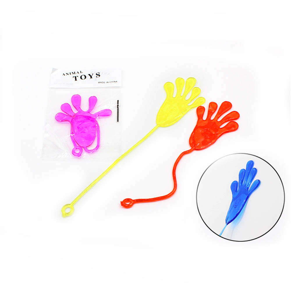 Funny Adult Gadget Practical Jokes Gag Lover Gifts Children Toys Baby Kids Glitter Sticky Hands