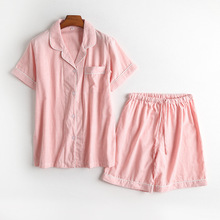 100% cotton good quality s-2xl summer  Pajama Set Women Pajamas 1323