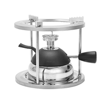Gasherd Elektro Ofen Verflüssigtes Gas Produktion Kaffee Im Freien Tragbare Aufblasbare Mini Hot Pot Gekocht Tee Einstellbar (Witho auf