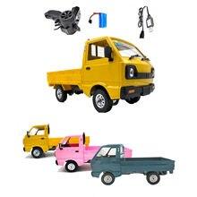 36x16x17cm wpl d12 1/10 rc modelo de carro brinquedos simulação deriva caminhão escalada carro presente para crianças plástico durável anti-skid carro