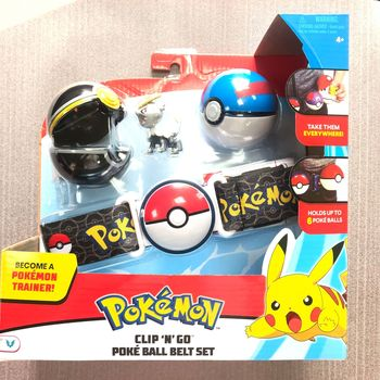 Pokemones Ball figure With Belt and Pop-up Action Figure Model Toys Retractable Belt Gifts Kids Toys in box 1