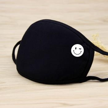 21 Styles Black Funny emotion Cotton Mouth Mask Unisex Teens Anti-Dust Mask Anime Mask Fashion Health Face Mouth Mask Unisex