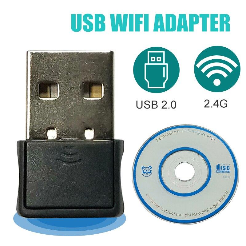 Usb Wifi Adapter Ethernet Lan Wireless 802.11n Laptop Desktop Dongle Card Antena Adaptador 2.4g 5g Wi Fi Receiver Wi-fi 5g Mini