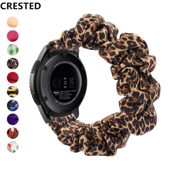 20 22mm band pebble time samsung galaxy watch active 42 46 gear sport s2 s3 zenwatch 1 2 ticwatch e pro c2 neo live strap Scrunchie Strap For Samsung Galaxy watch 46mm Gear S3 Frontier band 20/22mm bracelet Huawei watch GT/2 strap 46 mm 42mm/active 2