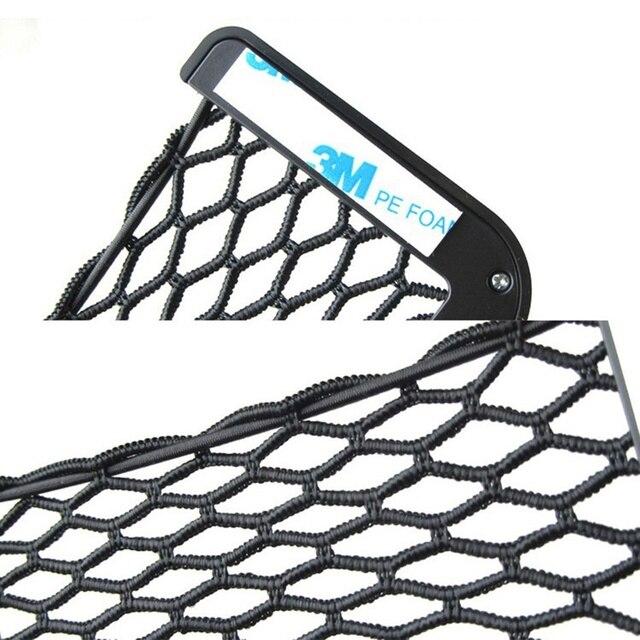 автомобильный сетевой органайзер с карманами который крепится фотография