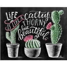 5D DIY round diamond painting cartoon sunflower embroidery cross stitch mosaic home decoration gift
