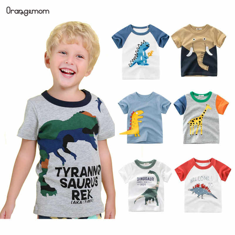 Orangemom new 2020 Summer children's clothing boys short sleeve T-shirt  kids  sweatshirt child's cotton clothes boys t shirt