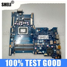 SHELI 15-BA 854958-001 LA-D713P for HP 15-Ba/motherboard with CPU A10-9600p/La-d713p/854958-601/..