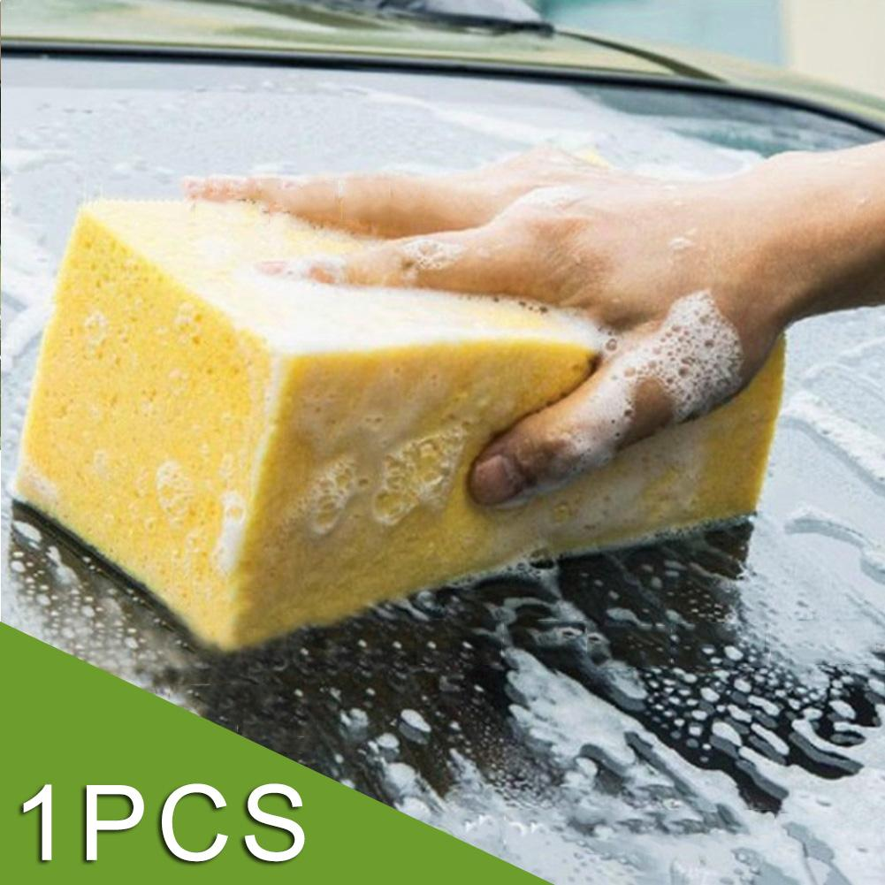 Car Wash Sponge For Choice Easy Hand-to-Go Honeycomb Big Macroporous Car Corral Cleaning Washing Sponge Block