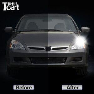 Image 2 - Auto zubehör Für Honda Accord 7th 2004 2008 Led Tagfahrlicht schalten drl 2in1