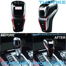 Carbon Fiber Car Gear Shift Shifter Knob Lever M5 Style For BMW 5/6/7 Series F10 F18 F07 F06 F12 F01 X3 X4 F25 F26 X5 X6 F15 F16