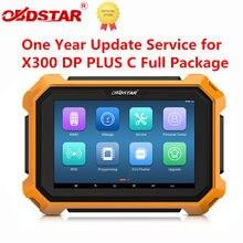 Serviço de atualização de um ano para obdstar x300 dp/x300 dp mais desconto de tempo limitado
