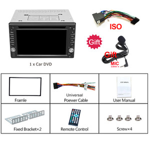 Image 5 - 2DIN Car DVD Player Radio GPS Bluetooth Carplay Android Auto for X TRAIL Qashqai x trail juke for nissan SWC FM AM USB/SD
