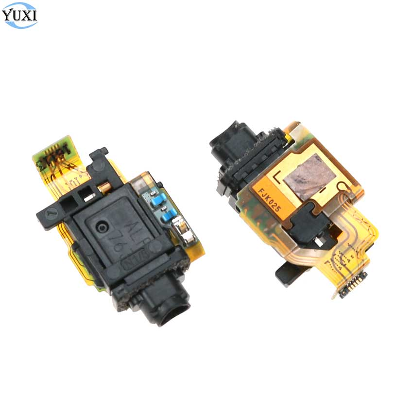 YuXi 1pc Replacement Parts For Sony Xperia X F5121 F5122 Headset Earphone Headphone Audio Jack Flex Cable