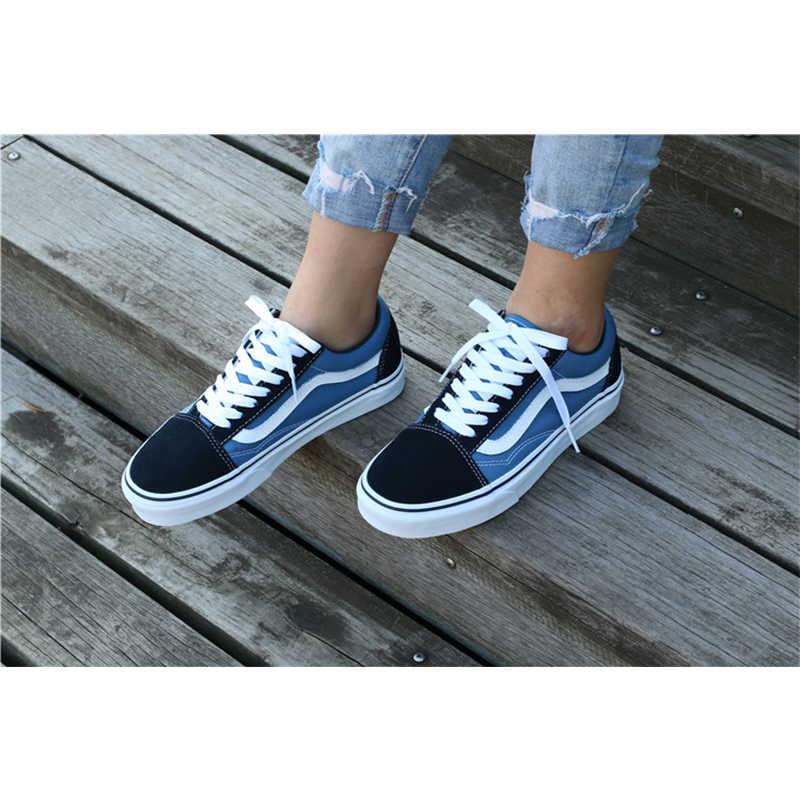 buy \u003e navy blue vans old skool womens