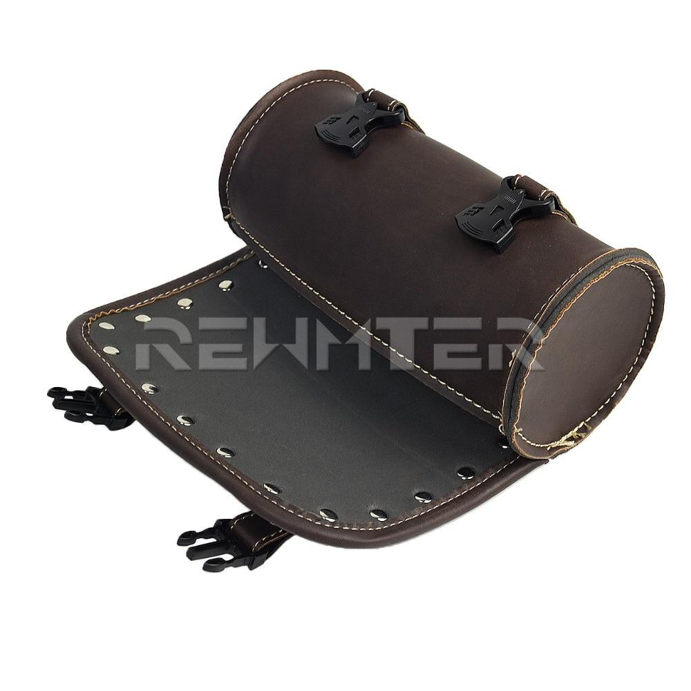 Bolsas para selim e couro