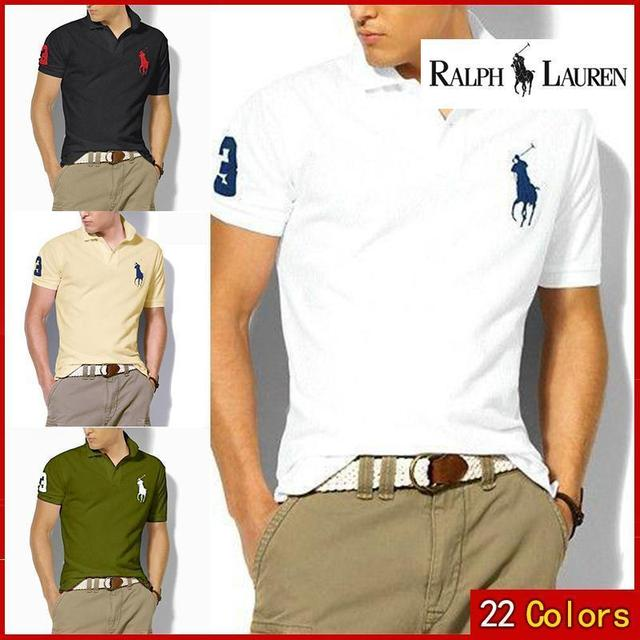 Polo Shirt Brand Mens Casual