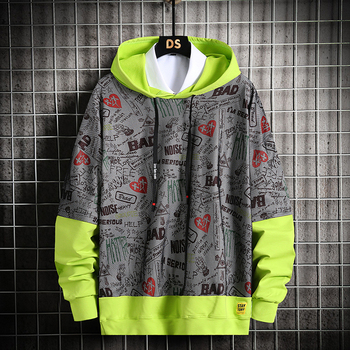 Fashion Men Hoodies 2020 New Spring Autumn Casual Printing Hoodies Sweatshirts Men Street Hip Hop Hoodies Male Drop Shipping