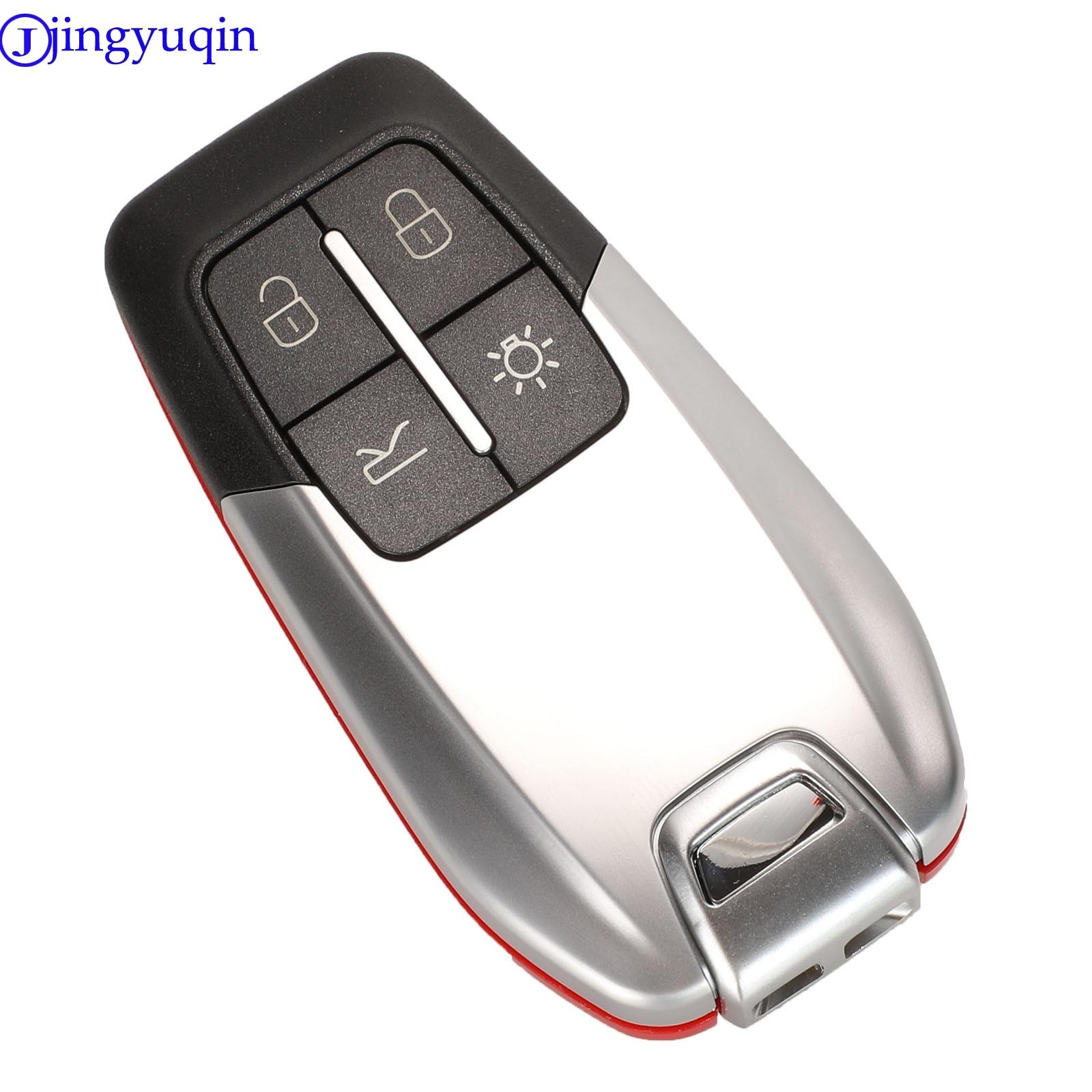 4 Button Remote Key Shell Case for Ferrari 458 588 488GTB LaFerrari Insert Key