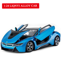 Tycoon 1:24 Alloy Car Die Casting Model Automobile Sound and LightingPull Back Toy Gifts for Children Boy Birthday Gifts