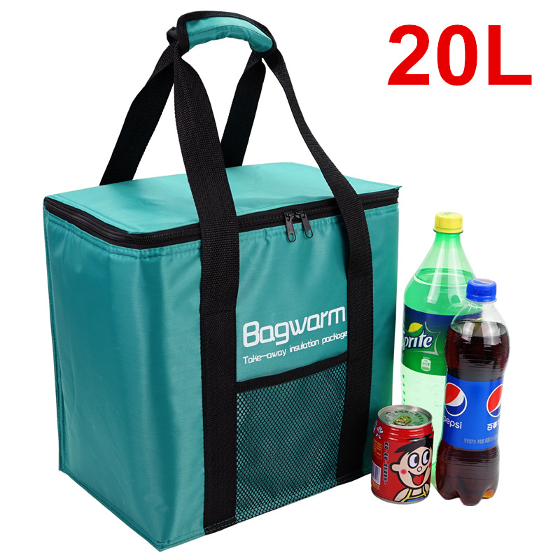 20L Cooler Bag Insulation package thermo ThermaBag refrigerator Car ice pack picnic Large cooler bags insulation thermal