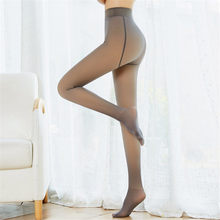 Nova alta elástica preto meias femininas meia-calça sexy pernas magras prevenir gancho de seda collant medias menina pantys quente