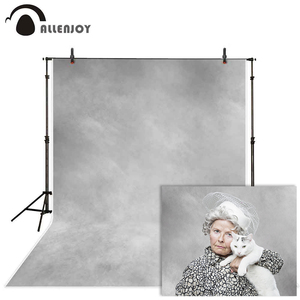 Image 1 - Allenjoy 초상화 사진 배경 지저분한 회색 그라디언트 질감 추상 오래 된 마스터 배경 사진 스튜디오 photophone