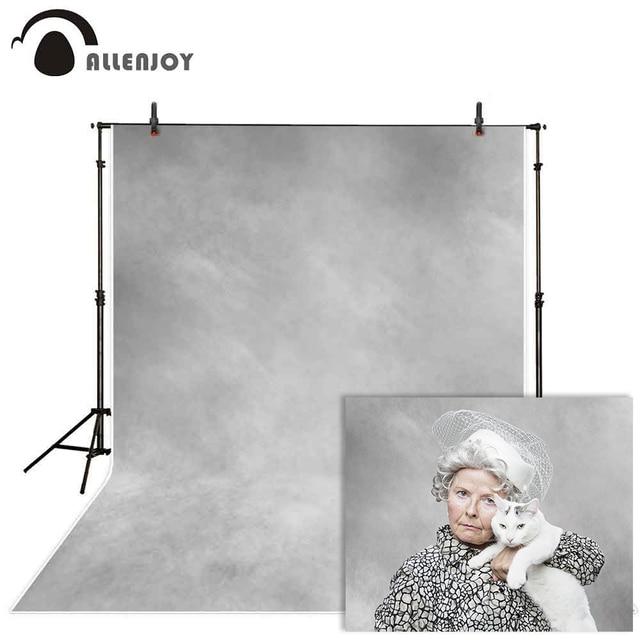 Allenjoy 초상화 사진 배경 지저분한 회색 그라디언트 질감 추상 오래 된 마스터 배경 사진 스튜디오 photophone