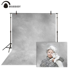 цена на Allenjoy Photography backdrops gray texture abstract old master style background for photo studio