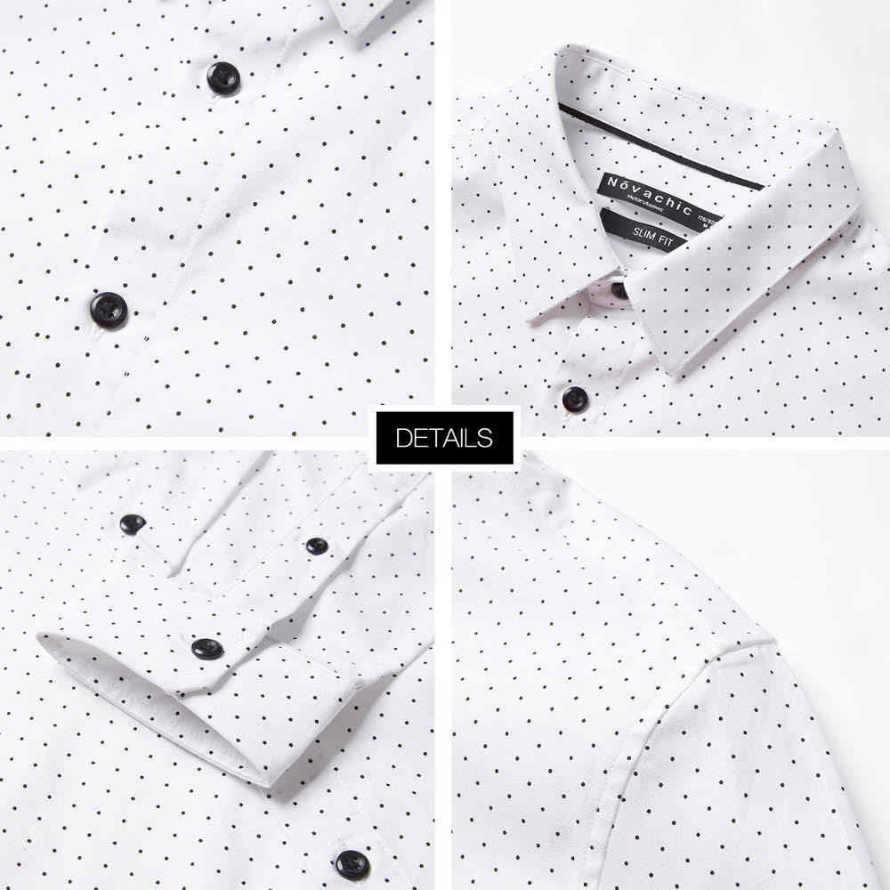 Metersbonweブランド男性スマートカジュアルシャツ 2020 春秋男性トレンドハンサム長袖シャツユース基本トップス