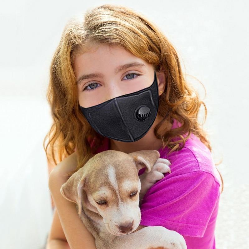 100pcs Respirator Cycling Mask Anti Dust Training Air Mask Mascarillas Black Purifying Mouth Mask Carbon Dust Haze Fog Face Mask
