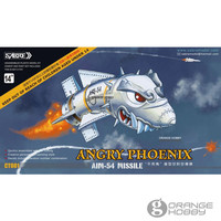 OHS SABRE CT001 Angry Phoenix AIM 54 Missile 2Pcs/Set Resin Hobby Assembly Model Kits